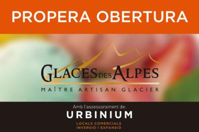 NEXT OPENING GLACES DES ALPES